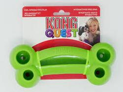 Kong Quest Bone, large, grøn