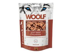 Woolf soft beef chunkies, 100 g