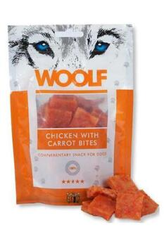 Woolf chicken with carrots bites, 100 g